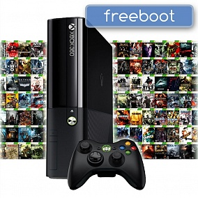 Xbox 360 E 500Gb [Freeboot] с играми